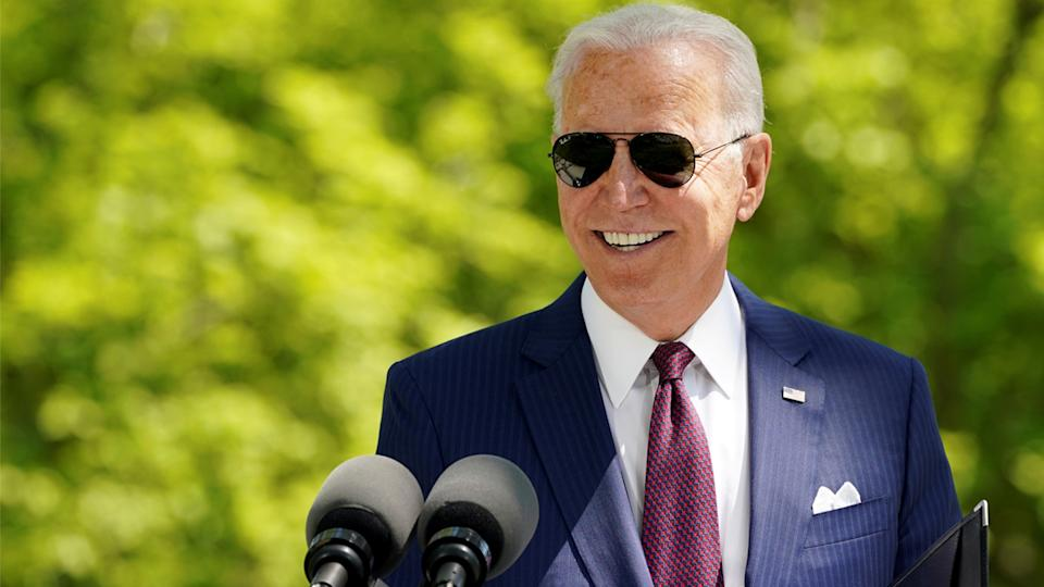 President Joe Biden will reportedly use Wednesday's primetime address to promote his American Families Plan. (Kevin Lamarque/Reuters)