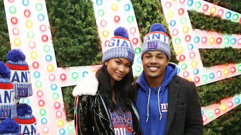 3ee891a8a9f Chanel Iman Is Pregnant With Her First Child -- See Her Baby Bump Debut!