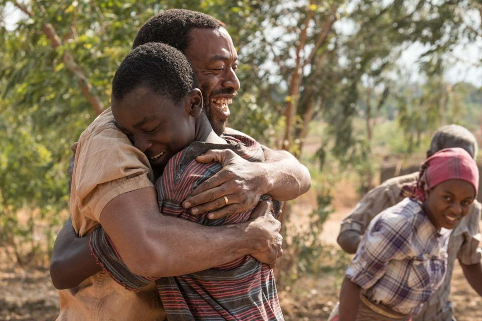 "<p>The directorial debut of actor Chiwetel Ejiofor—who also stars in the film—follows a 13-year-old Malawian boy who teaches himself to build a windmill in order to save his village from starvation.</p><p><a class=""link rapid-noclick-resp"" href=""https://www.netflix.com/title/80200047"" rel=""nofollow noopener"" target=""_blank"" data-ylk=""slk:Watch It Now"">Watch It Now</a></p>"