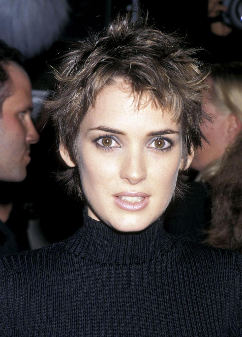<p>The '90s saw a chic, edgy style of pixie come into focus after Winona Ryder debuted her cool look in 1997.</p>