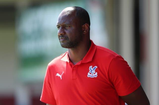 Patrick Vieira is back in the Premier League as manager of Crystal Palace