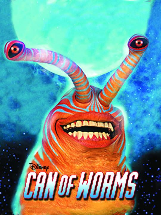 <p>Erika Christensen (<i>Swimfan</i>,<i> Parenthood</i>) stars in this terrifying tale of a boy who sends a signal into outer space, only to accidentally invite aliens over for a visit. I think it goes without saying that these aliens do NOT have respect for common human propriety and etiquette. Sad! <br><br><em>(Credit: Disney Channel)</em> </p>