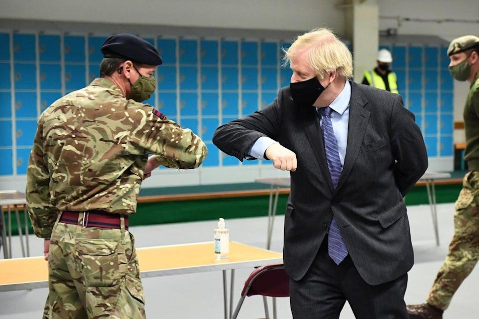 Prime Minister Boris Johnson is reportedly due to consider whether to send the Army in to drive fuel trucks amid a shortage driven by panic buying (Jeff Mitchell/PA) (PA Archive)