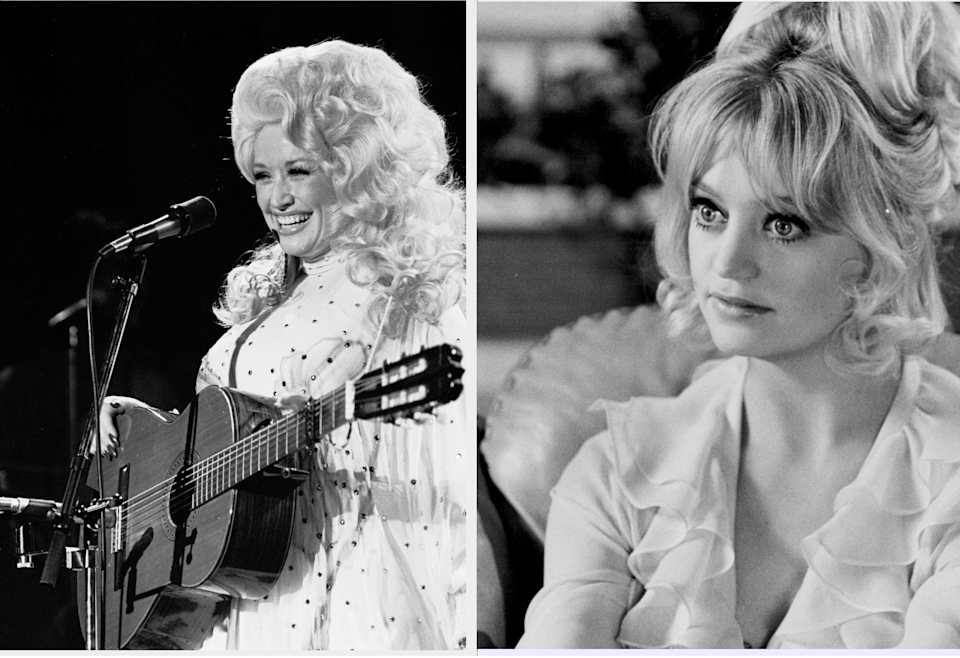 Dolly Parton and Goldie Hawn