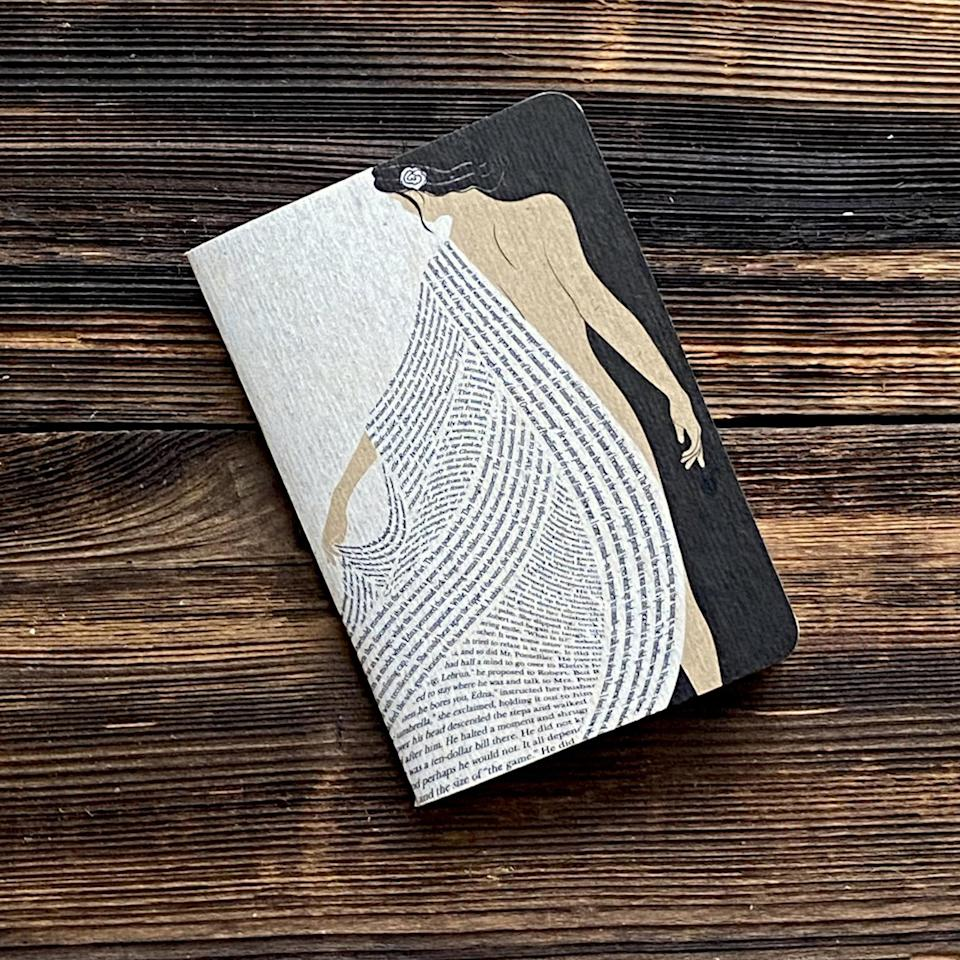 """<h3>Kate Chopin Literary Notebook</h3><br><br><strong>ObviousState</strong> Kate Chopin Literary Notebook, $, available at <a href=""""https://go.skimresources.com/?id=30283X879131&url=https%3A%2F%2Fwww.etsy.com%2Flisting%2F896835321%2Fkate-chopin-literary-notebook-lined"""" rel=""""nofollow noopener"""" target=""""_blank"""" data-ylk=""""slk:Etsy"""" class=""""link rapid-noclick-resp"""">Etsy</a>"""