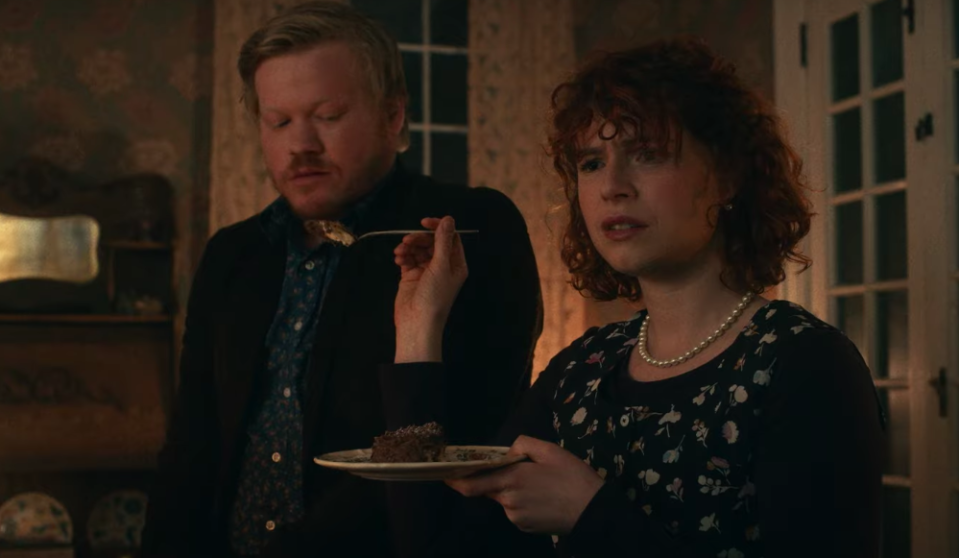 Jesse Plemons and Jessie Buckley in 'I'm Thinking of Ending Things' (Netflix)