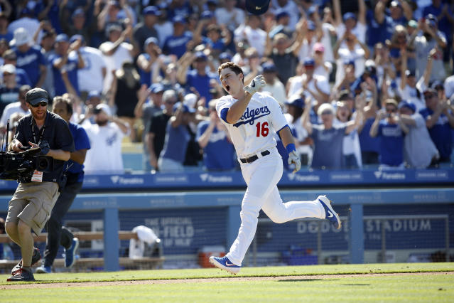 The Los Angeles Dodgers have three straight walk-off wins. (Photo by Adam Davis/Icon Sportswire via Getty Images)