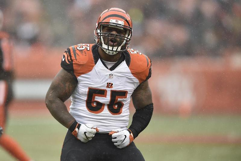 Vontaze Burfict had his suspension reduced from five games to three after an appeal. (AP)