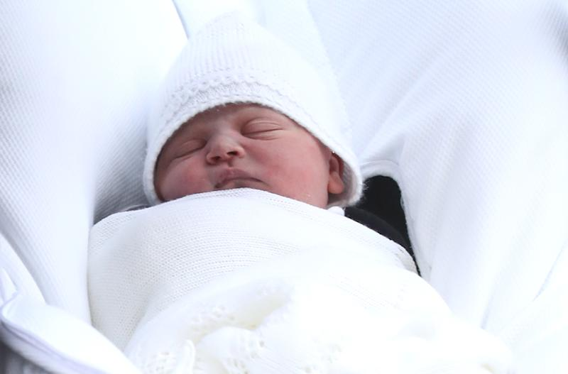 The new royal baby sparked a spending frenzy by the simple act of being born