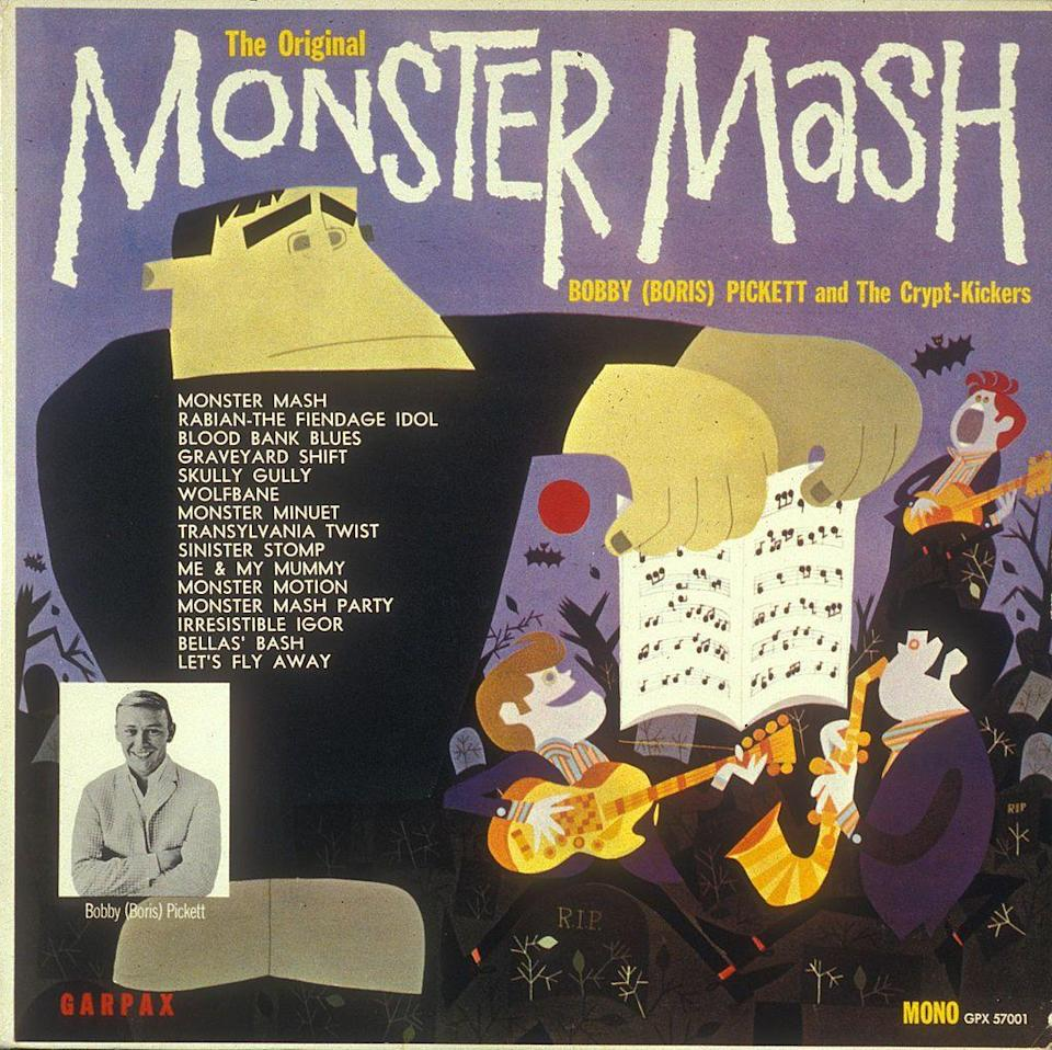 """<p>Halloween's equivalent of """"Jingle Bells,"""" the catchy song """"Monster Mash,"""" by Bobby Pickett and the Crypt-Keepers, was released two weeks before Halloween in 1962 and quickly jumped to #1 on the Billboard chart.</p>"""