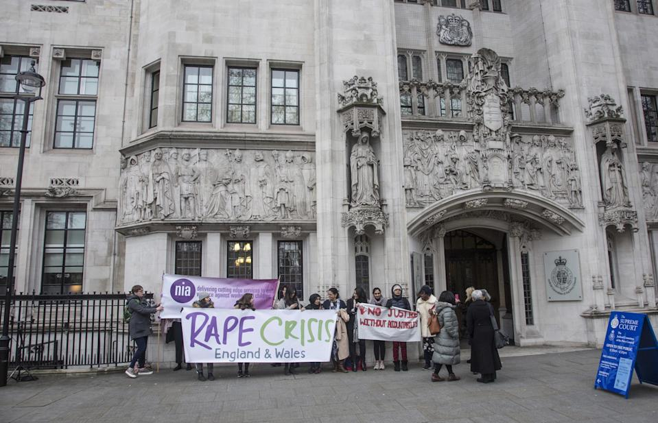 Injustice: sexual violence victims are too often failed by the system (NurPhoto via Getty Images)