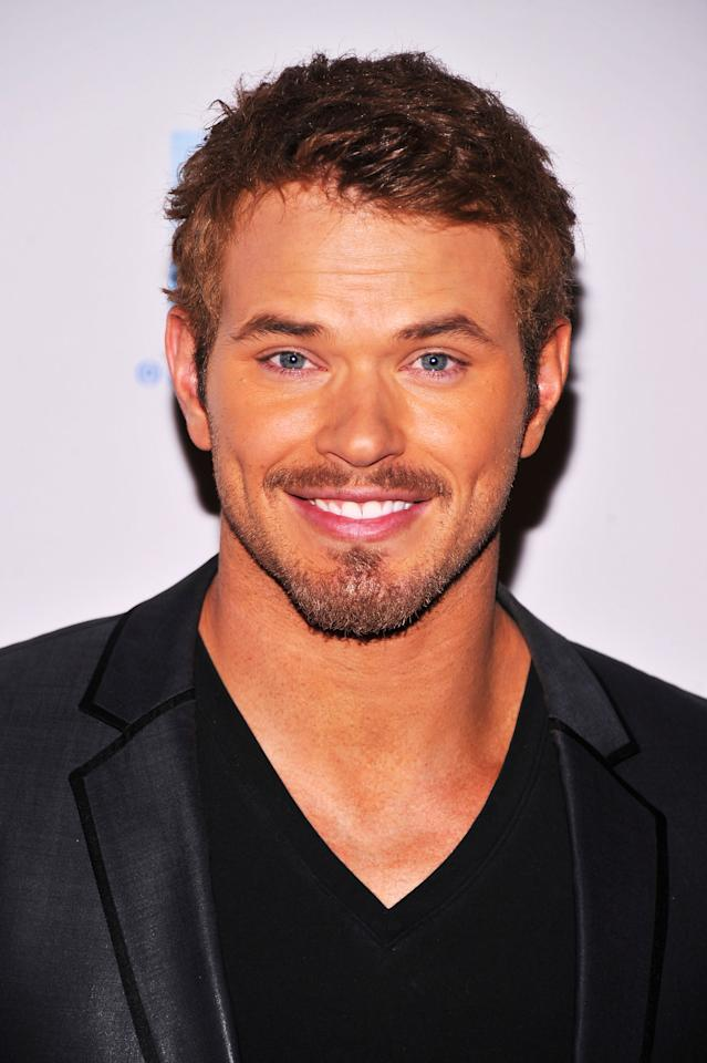 NEW YORK, NY - APRIL 26:  Actor Kellan Lutz attends the 2012 TFF Awards during the 2012 Tribeca Film Festival at the Conrad Hotel on April 26, 2012 in New York City.  (Photo by Stephen Lovekin/Getty Images)