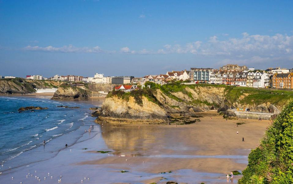 Summer holiday let bookings in Newquay are up 112pc year-on-year, according to analytics company AirDNA, but second homeowners could be stung by tax changes - Manfred Gottschalk