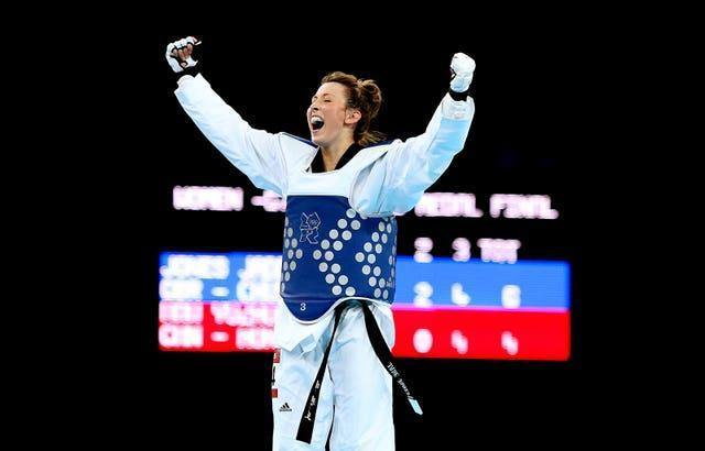 Jade Jones won her first Olympic gold at London 2012 at the age of 19