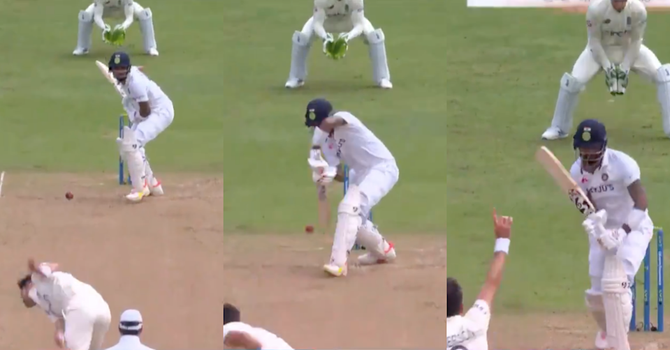 Watch: James Anderson Ends KL Rahul's Resistance For His Third Wicket Of The Innings