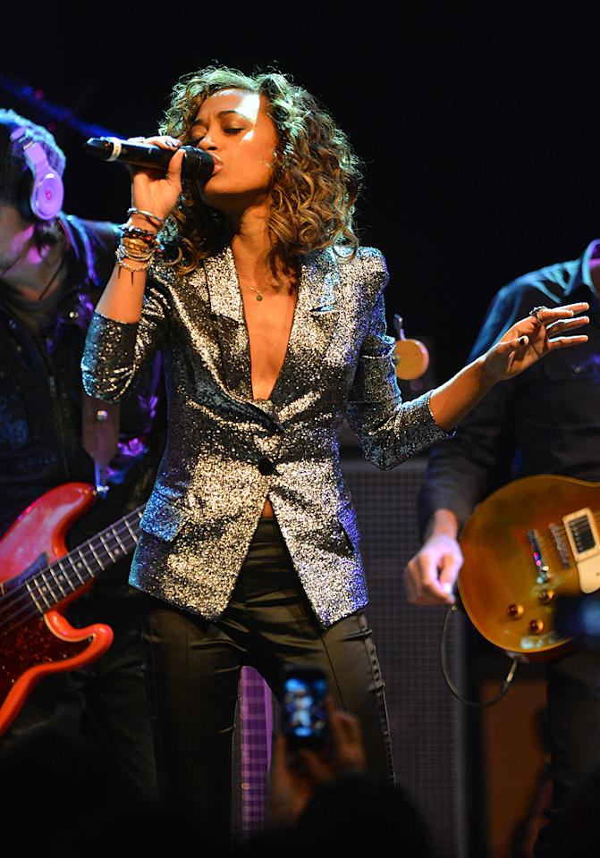 "Amanda Brown at a special live performance event celebrating the Top 12 artists of ""The Voice"" on November 8, 2012 at the House of Blues in Hollywood, CA."