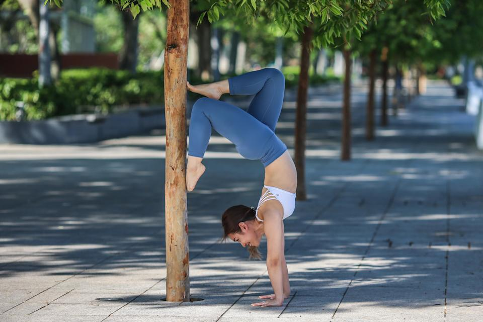 Gayle Nerva believes that balance is key to a healthy lifestyle. (PHOTO: Cheryl Tay)