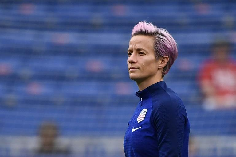 Megan Rapinoe rallies behind tea-sipping Alex Morgan following celebration criticism