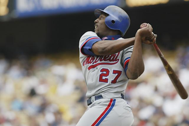 Vlad in his Expos days. (Getty Images)