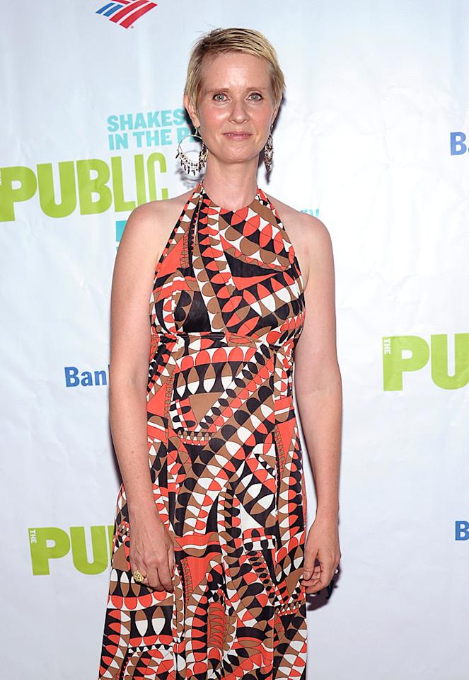 """""""Sex and the City"""" star Cynthia Nixon privately fought breast cancer in 2006. Thanks to a lumpectomy and six-and-a-half weeks of radiation, the actress is cancer-free and has served as an   ambassador for Susan G. Komen for the Cure, an organization that supports breast cancer research. (8/9/2012)"""