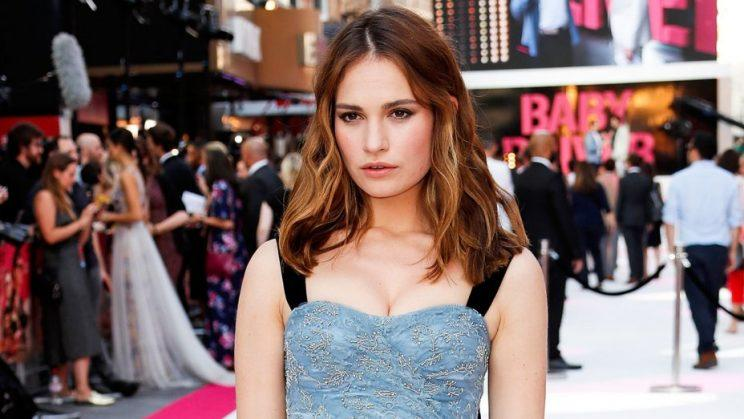 Lily James joins cast of Mamma Mia sequel