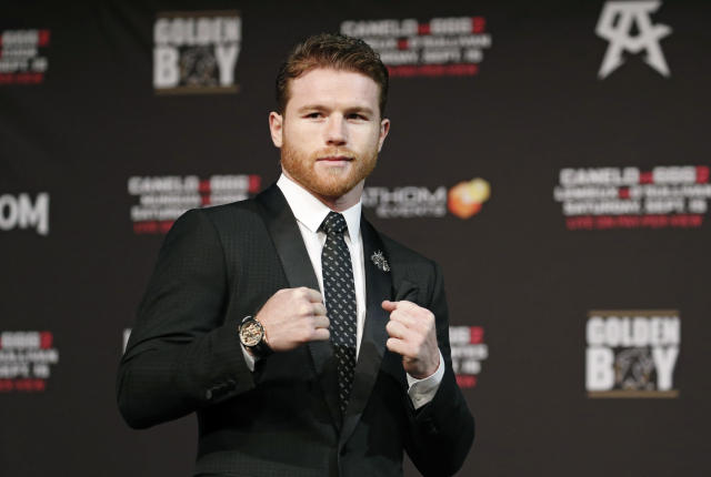 Canelo Alvarez signed a massive deal with DAZN that is worth at least $365 million. (AP Photo)
