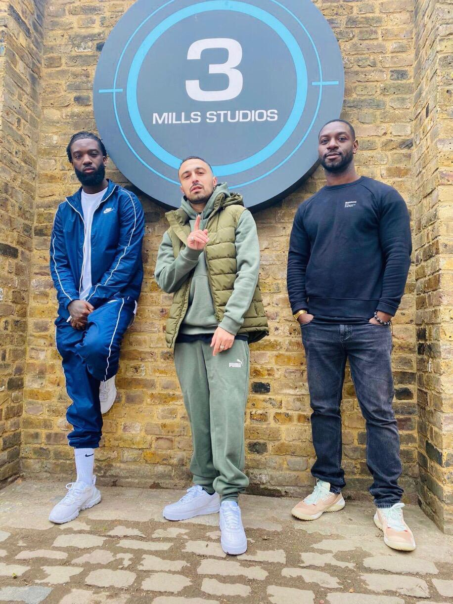 Jazzie Zonzolo, Adam Deacon and Richie Campbell (Belstone Pictures/Deaconstructed/Piece of Pie Productions/PA)