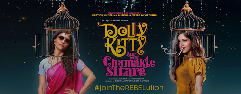 A poster of Dolly Kitty Aur Chamakte Sitare on Netflix
