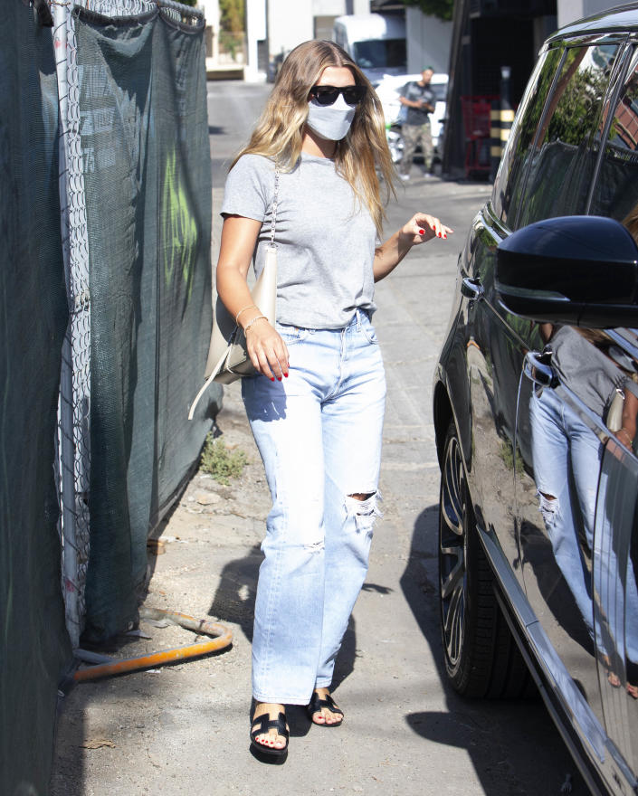 Sofia Richie shops at Melrose Place in West Hollywood, CA. - Credit: TheRealSPW / MEGA