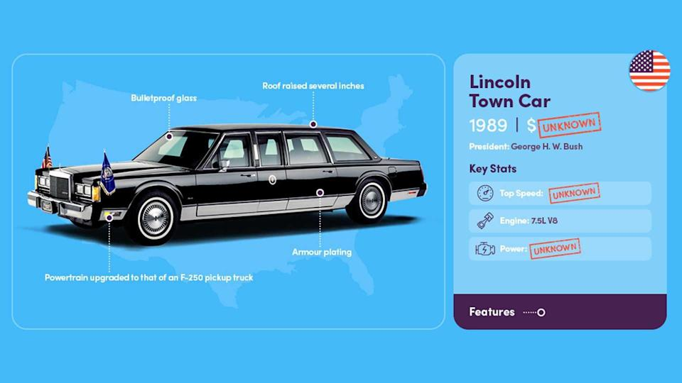 Presidential Limo 1989 Lincoln Town Car