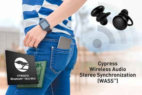 Cypress Bluetooth® Audio Solution Delivers Best-in-class User Experience to Earbuds