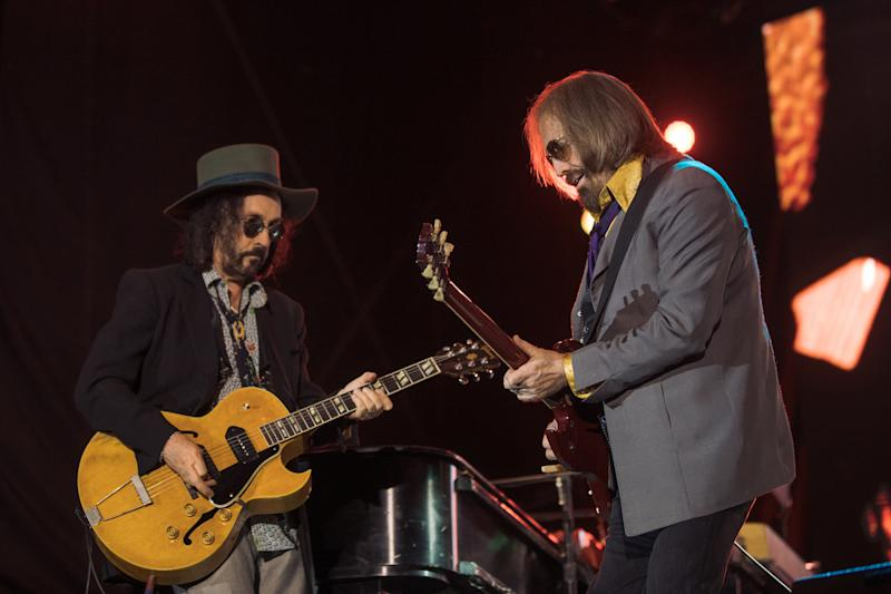 Tom Petty and Mike Campbell at Arroyo Seco Weekend 2017