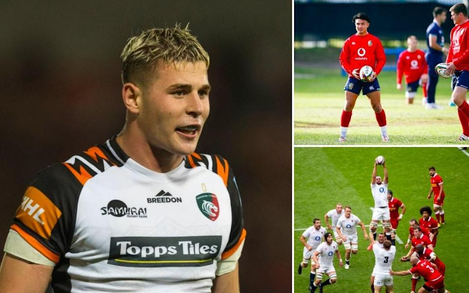 Freddie Steward has been impressive and Eddie Jones is a big fan of Lewis Ludlow... could we also see a midfield axis of Marcus Smith and Owen Farrell? - Getty Images/AFP