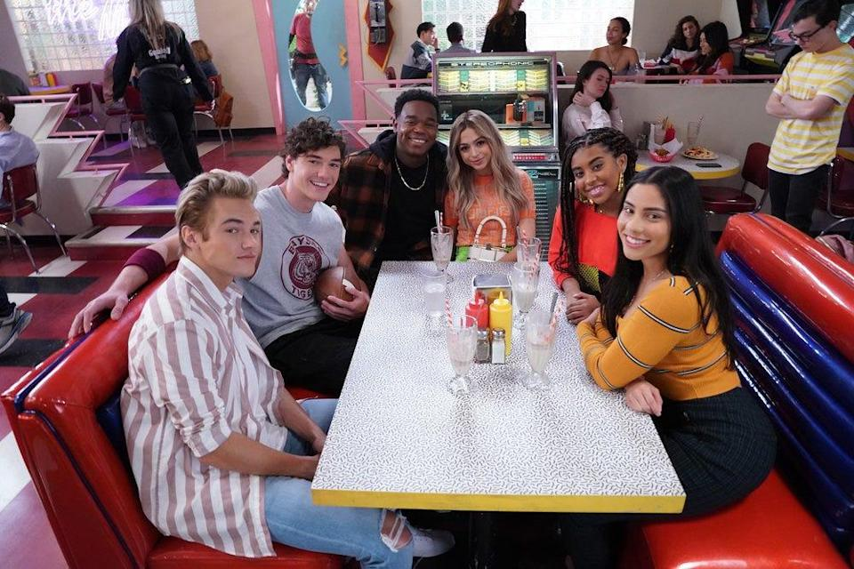 """Series like """"Saved by the Bell"""" on Peacock (pictured) are challenging the negative transgender narrative."""
