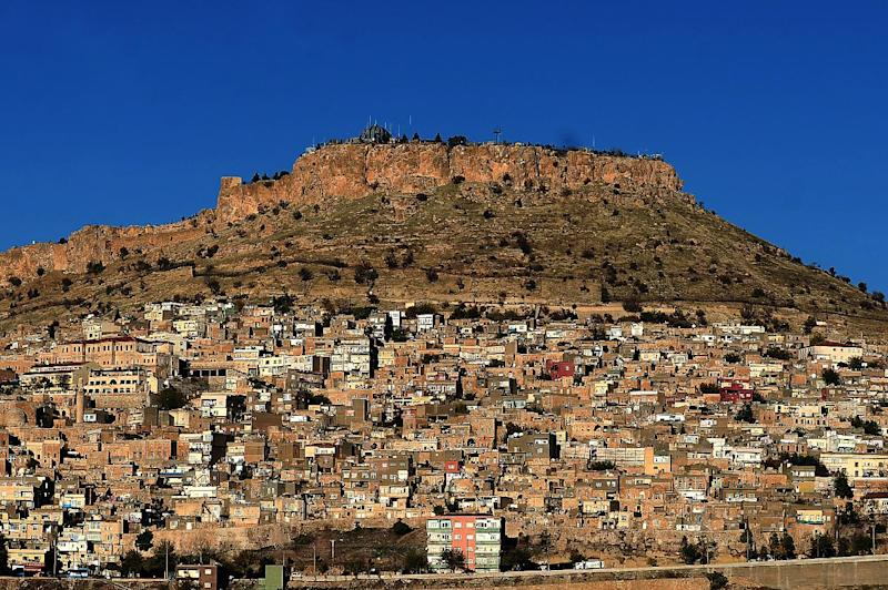 A general view of Mardin in southeastern Turkey, pictured on November 19, 2014 (AFP Photo/Ozan Kose)