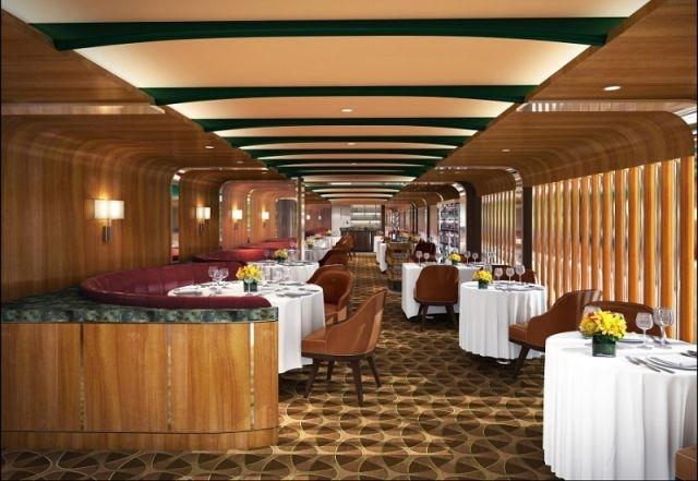 Seabourn's The Grill by Thomas Keller