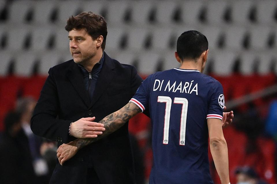 <p>Mauricio Pochettino has guided PSG into the Champions League last four</p> (AFP via Getty Images)