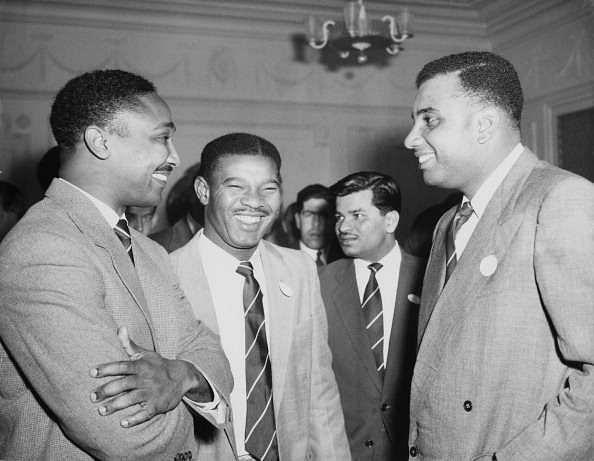 From Right to Left (Clyde Walcott, Everton Weekes, and Frank Worrell)