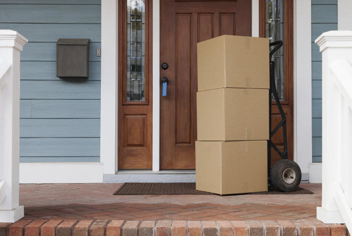 People are combatting package theft with creative measures. (Photo: Getty Images)