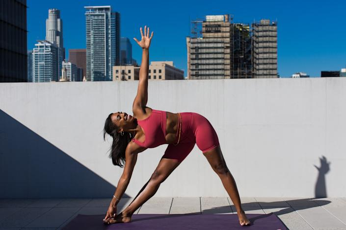 """Danielle Richardson says she now has more fulfillment in her life. <span class=""""copyright"""">(Gabriella Angotti-Jones / Los Angeles Times)</span>"""