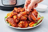 "<p>The best part about the Instant Pot is that it's basically foolproof. Put in your ingredients, turn that bad boy on, and within minutes you'll be enjoying fall-off-the-bone wings, creamy dips and superb sliders. So when you're planning your next dinner party or potluck dish, make your contribution less stressful with a hands-free recipe everyone will love. Need more Instant Pot ideas? Check out our new cookbook <em><a href=""https://www.amazon.com/Party-Instant-Pot-Insanely-Recipes/dp/1950099148/?tag=syn-yahoo-20&ascsubtag=%5Bartid%7C1782.g.28252452%5Bsrc%7Cyahoo-us"" rel=""nofollow noopener"" target=""_blank"" data-ylk=""slk:Party in an Instant Pot"" class=""link rapid-noclick-resp"">Party in an Instant Pot</a></em>.</p>"