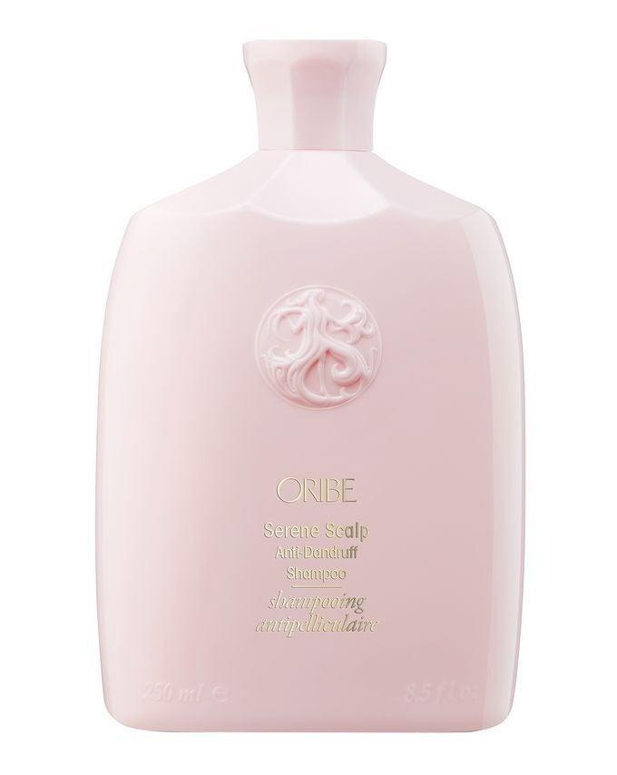 """<h2>Oribe Serene Scalp Shampoo<br></h2><br>Salicylic acid and caffeine in this formula work to exfoliate dry scalp and stimulate your follicles, but let's be real — the glossy pink bottle is the real catch.<br><br><strong>Oribe</strong> Serene Scalp Balancing Shampoo, $, available at <a href=""""https://www.cultbeauty.co.uk/oribe-serene-scalp-balancing-shampoo.html"""" rel=""""nofollow noopener"""" target=""""_blank"""" data-ylk=""""slk:Cult Beauty"""" class=""""link rapid-noclick-resp"""">Cult Beauty</a>"""