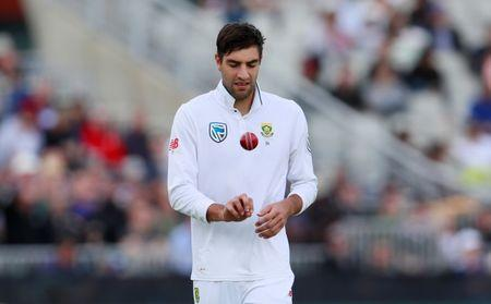 Cricket - England vs South Africa - Fourth Test - Manchester, Britain - August 4, 2017 South Africa's Duanne Olivier Action Images via Reuters/Jason Cairnduff