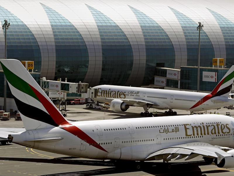 Flights to the US from Saudi Arabia, Jordan, Egypt and the United Arab Emirates are believed to be affected: AP