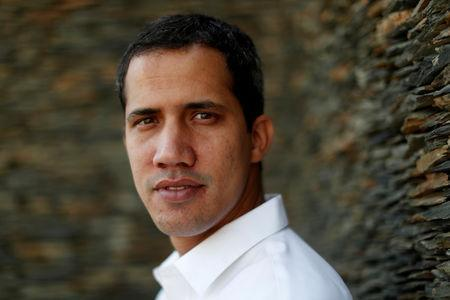 Venezuelan opposition leader Juan Guaido, who many nations have recognized as the country's rightful interim ruler, poses for a photograph after an interview with Reuters in Caracas, Venezuela March 22, 2019. REUTERS/Carlos Jasso