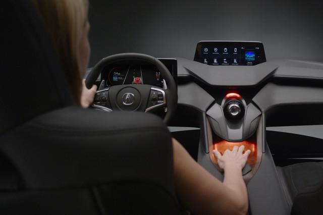 acura precision cockpit news pictures tech features