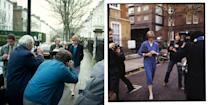 <p>Since first being linked to Prince Charles in 1980, Lady Diana Spencer was hounded by the press and photographers - something which sadly continued through her life. </p>