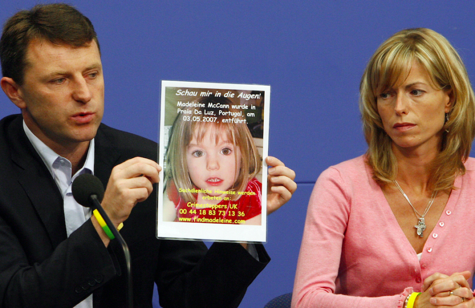 <em>Madeleine McCann's parents have seen a boost in profits to aid the search for their daughter (Getty)</em>