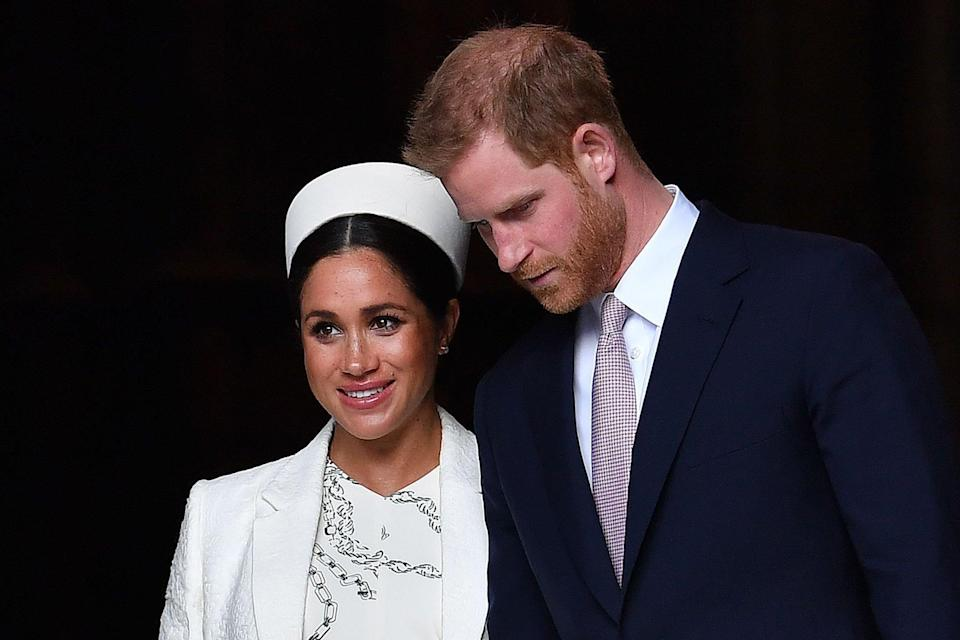The Duke and Duchess of Sussex (AFP/Getty Images)