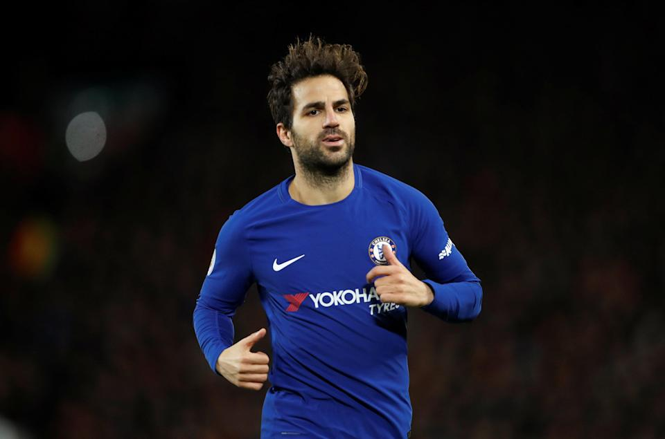 Cesc Fabregas was signed to replace Lampard
